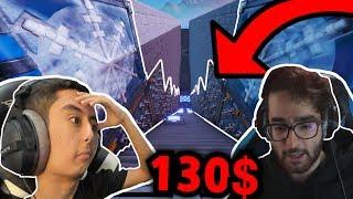 فورت نايت : ماب قليييل ادب !! 🤬💔 خلص الماب ولك 130 دولااار !! 💰 | Fortnite