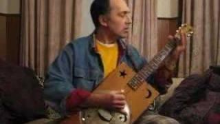 Bukka White Jitterbug Swing Bottleneck Blues Cigar Box Guitar
