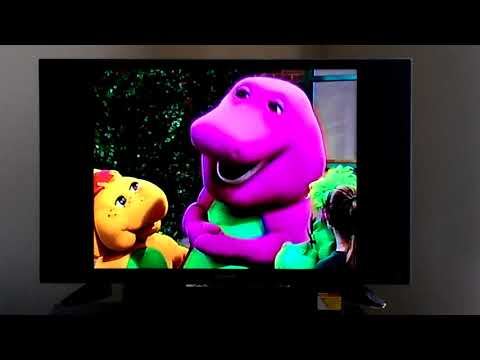 Closing To Barney: Let's Play School 1999 VHS