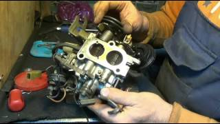 Ta'mirlash carburetor 2E qismi 2 Pittburg