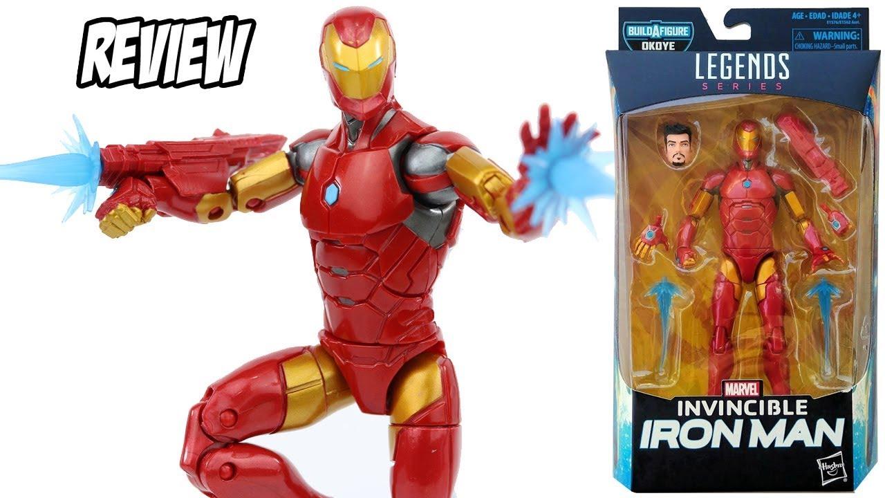 395a16525d5 Invencível Homem de Ferro Marvel Legends filme Pantera Negra BAF Okoye   Review  brinquedo boneco
