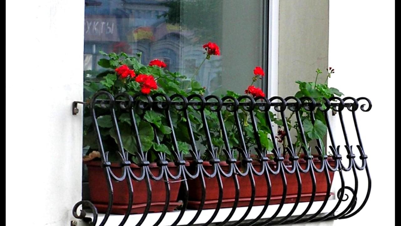 Цветочница на окно своими руками