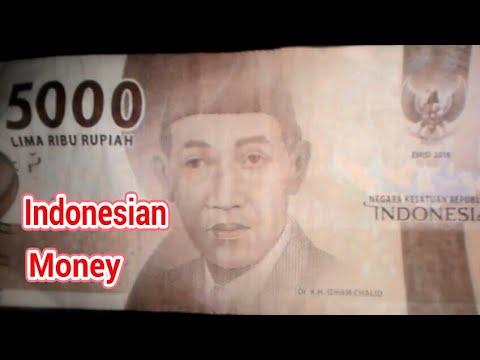 PAPER MONEY! Indonesian Money Rp 5000