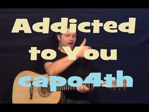 how to play addicted to love on guitar