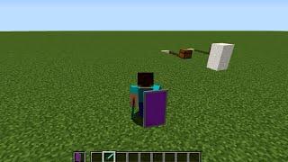 Como hacer un escudo en minecraft
