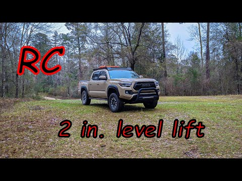 3rd gen tacoma 2 inch level mod (Rough Country)