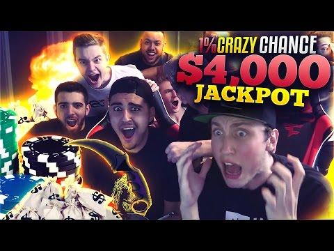 CRAZY 1% CHANCE $4,000 WIN!! (CS:GO SKINS)