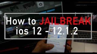 NEW Jailbreak iOS 12 - 12.1.2! How to install cydia on ios 12 | How to jailbreak