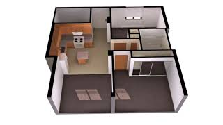 Simple 2 Bedroom Cabin Plans