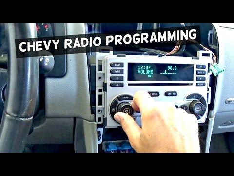 2005 chevy equinox radio no sound