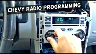 Video How to Program Chevrolet Radio CD Player with Maxisys  Demonstrated on Chevrolet Equinox download MP3, 3GP, MP4, WEBM, AVI, FLV November 2018