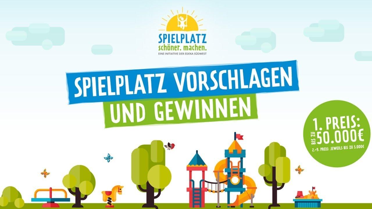 edeka spielplatz aktion 2017 - biblis (hessen) - youtube