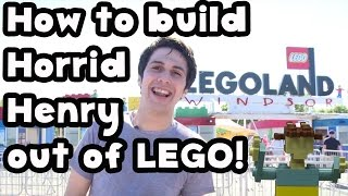 How to build Horrid Henry out of LEGO!