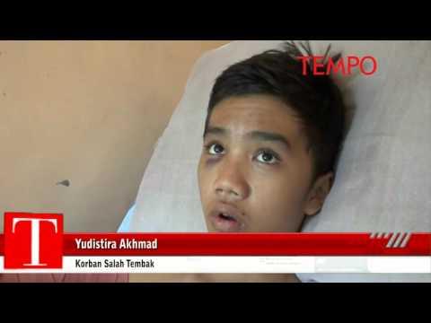 Pelajar Korban Salah Tangkap Ini Ditembak dan Dianiaya Polisi