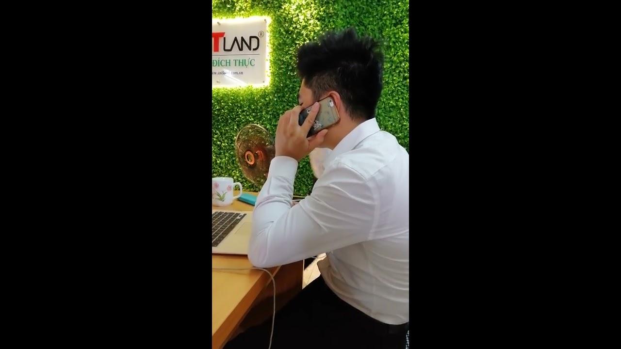 Allstar Land – Giám đốc Trần Xuân Phong telesale push khách mua bất động sản, đỉnh cao của bán hàng