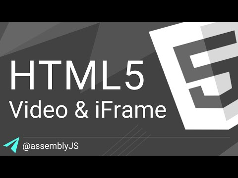 Add Video To Webpages With Video & IFrame Elements | HTML5 | #SigmaSchool