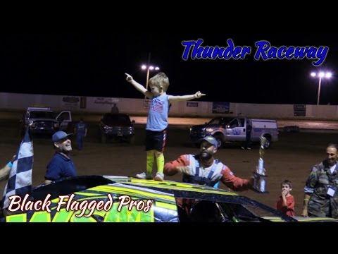 IMCA Modified Main At Thunder Raceway August 6th 2016