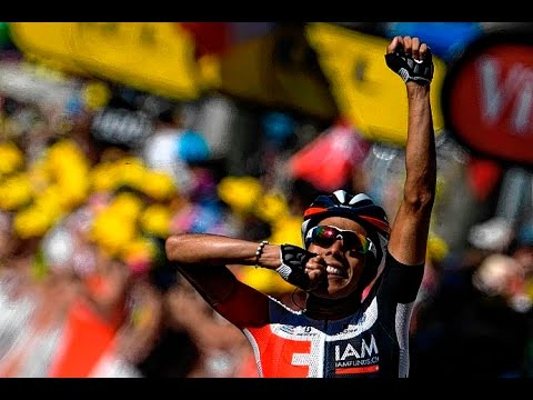 Jarlinson Pantano gana etapa 15 del tour de Francia 2016 (Narracion ESPN vs CARACOL TV)