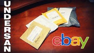 Розпакування 4-х посилок з сайту eBay
