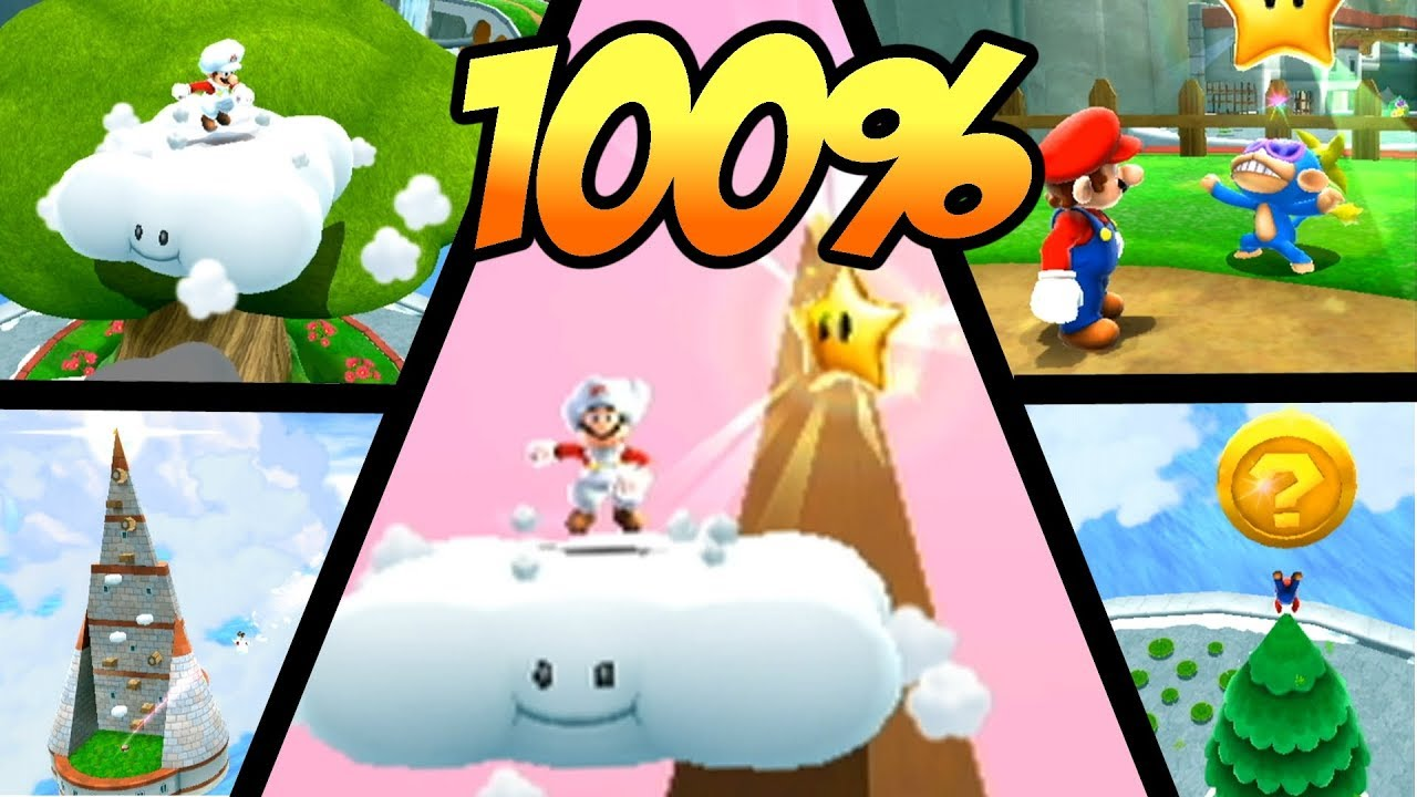 Super Mario Galaxy 2 Part 7 All 242 Stars Walkthrough 100% ...