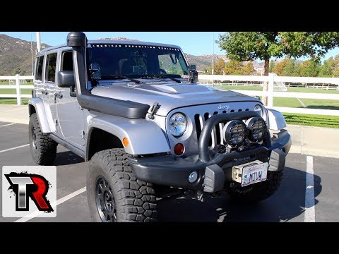 AEV Jeep Wrangler Review - Rig Walk Around Ep.3