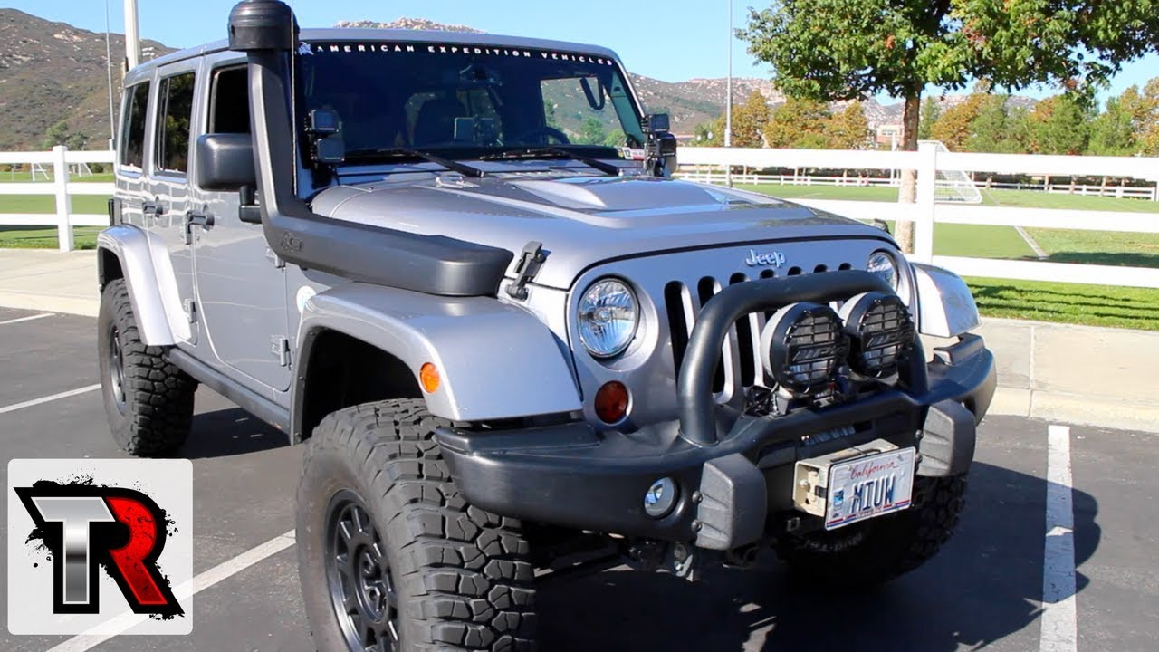 aev jeep wrangler review rig walk around ep 3 youtube rh youtube com