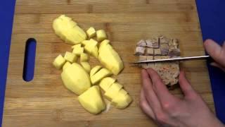 Рецепт приготовления картофельного супа со свининой в суповарке VITEK VT-2620 ST