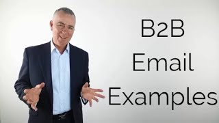 b2b email examples