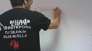 Sistema de ecuaciones con radicales franjamanela Academia Usero Estepona
