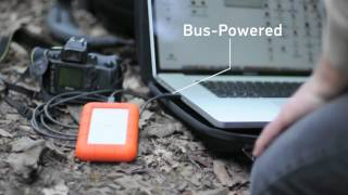 LaCie Rugged Mini 2TB LAC9000298 USB 3.0 2 TB Portable Harddisk Hard Drive GARANSI RESMI