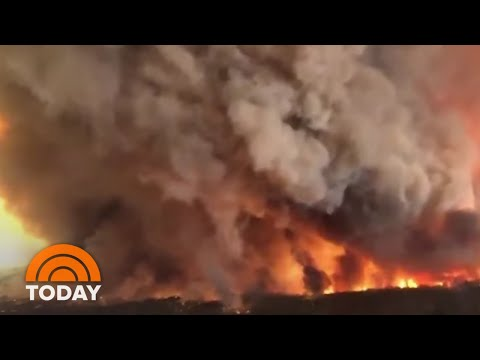 Smoke From Australian Wildfires Is Impacting Airport, Australian Open | TODAY