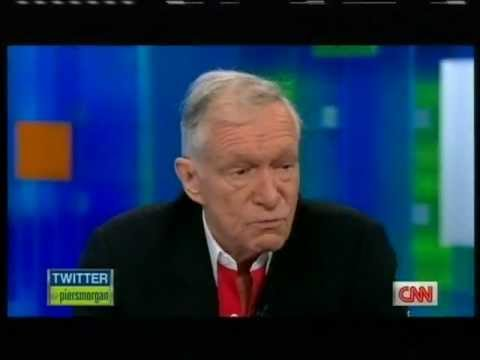 Hugh Hefner INTERVIEW on piers morgan tonight CNN 1/3
