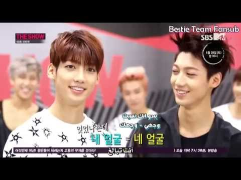 140624 THE SHOW (60 seconds Interview) - BOYFRIEND [Arabic Sub]