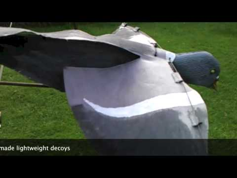Home Made Flapping Decoys Simple Cheap And Works Hyp