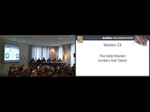 IHIF 2016 Session 13 - The Debt Market