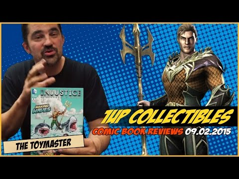 1Up Collectibles Rapid Fire Pull List | 09-02-15 Comic Book Review