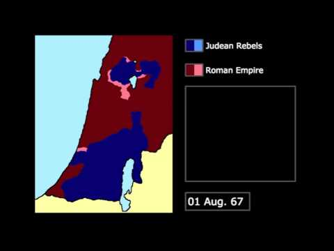 [Wars] The First Jewish-Roman War (66-73): Every Month