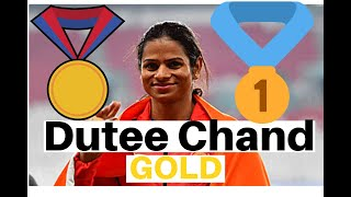 Dutee Chand 🏅SILVER🏅 Medal | 100m final in Asian Games 2018