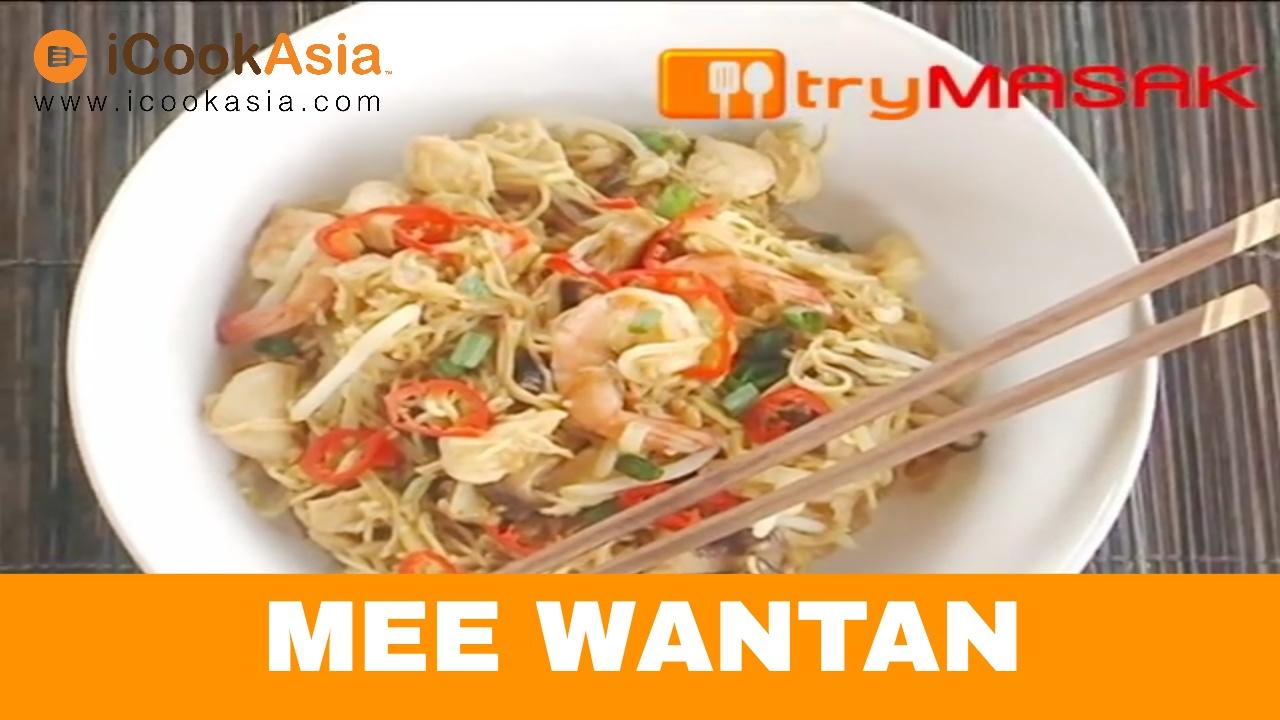 Mee Wantan Try Masak Icookasia