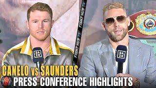 HIGHLIGHTS   CANELO ALVAREZ VS BILLY JOE SAUNDERS FINAL PRESS CONFERENCE