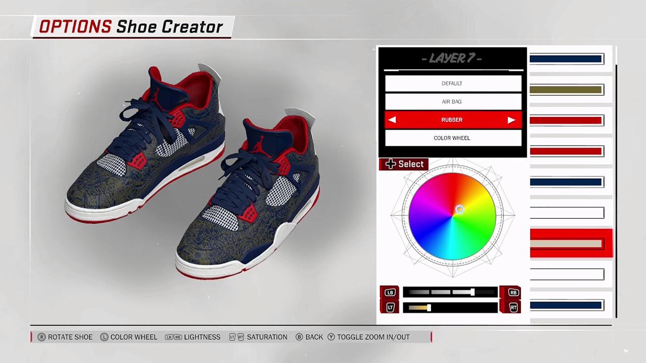 info for 9b71f 14924 NBA 2K18 Shoe Creator - Air Jordan 4 PE
