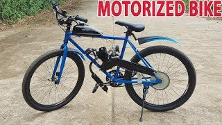 Build a Motorized Bike at home - Tutorial thumbnail