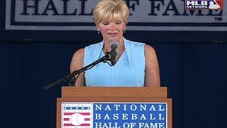 Ron Santo is inducted into the Hall of Fame