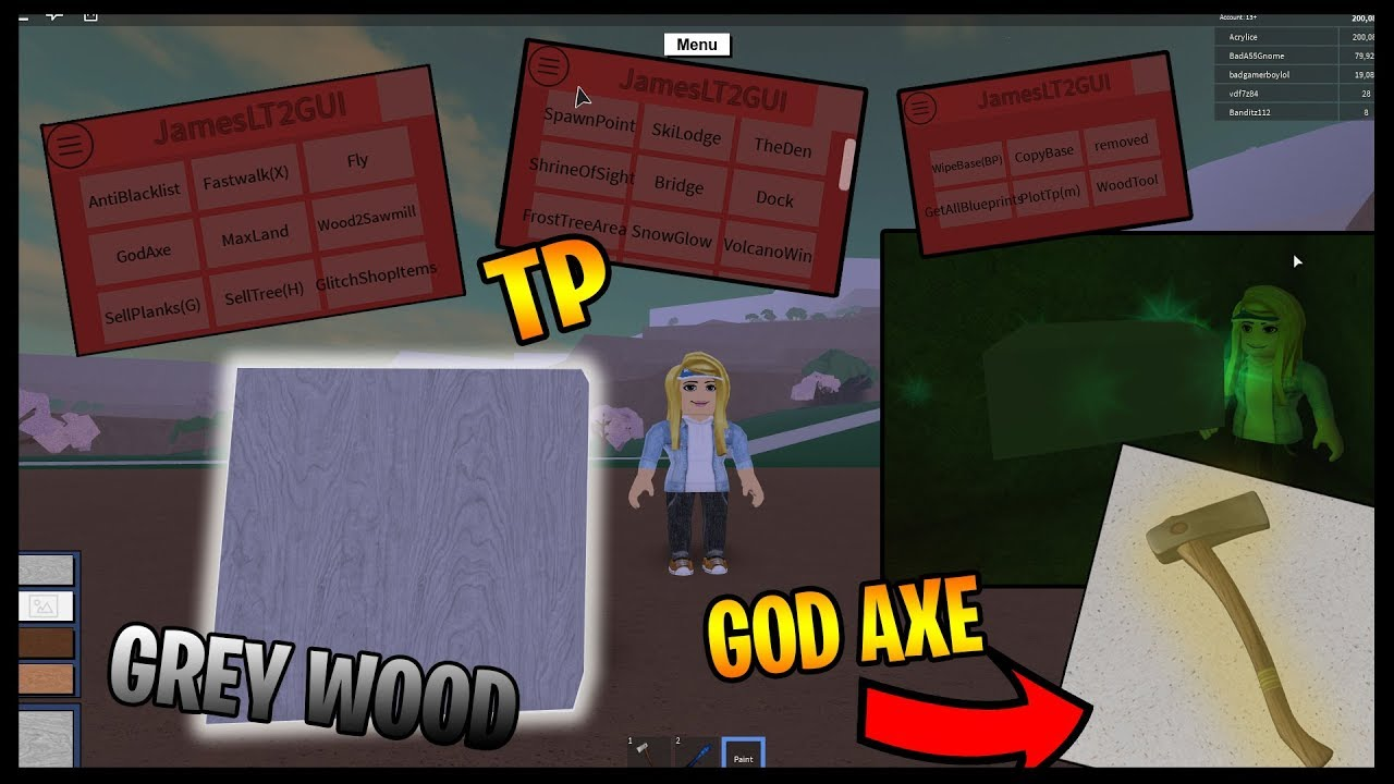 The BEST FREE EXPLOIT!! Roblox Lumber Tycoon 2