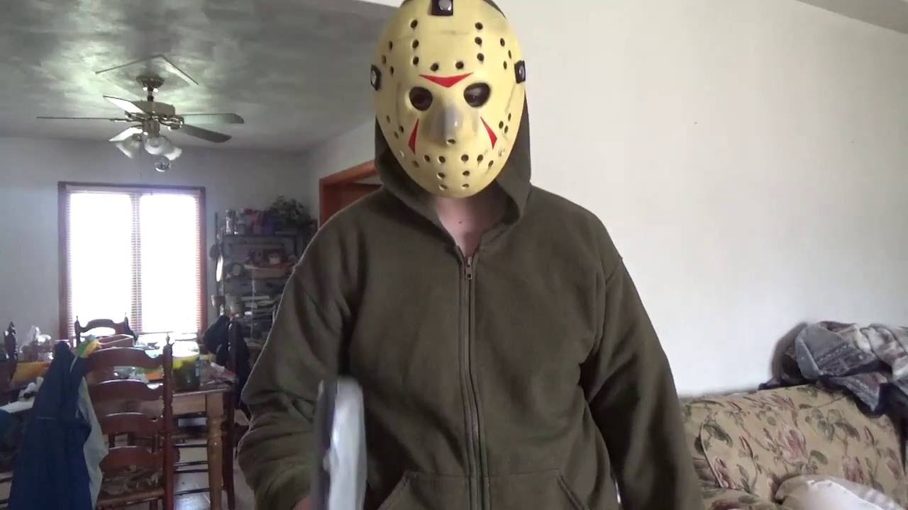 jason voorhees costume test - youtube