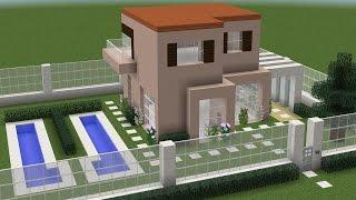 Como fazer uma Casa Moderna no Minecraft PE/CONSOLE/PC