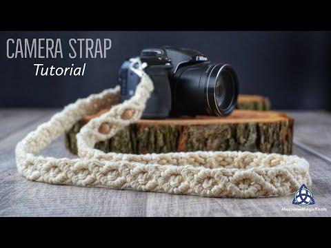UNIQUE Camera Strap DIY | Macrame Tutorial