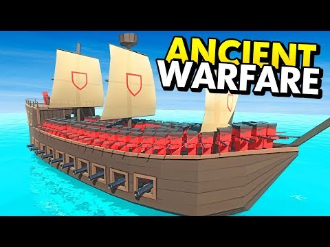 NEW PIRATE SHIPS IN ANCIENT WARFARE 3 (Ancient Warfare 3 Funny Gameplay)