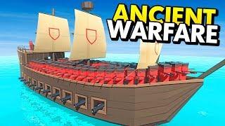 NEW PIRATE SHIPS IN ANCIENT WARFARE 3 (Ancient Warfare 3 Funny…
