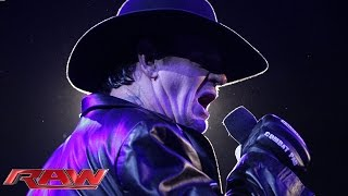 The Undertaker explains his actions at WWE Battleground: Raw, July 20, 2015